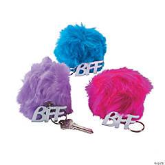 Plush BFF Pom-Pom Keychains PDQ