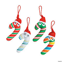 Plush Candy Canes