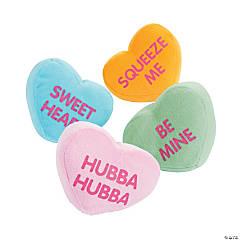 Plush Conversation Hearts