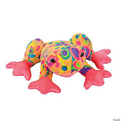 Plush Croaking Frog