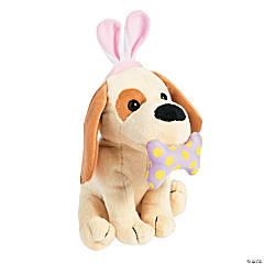 Plush Dog with Bunny Ears