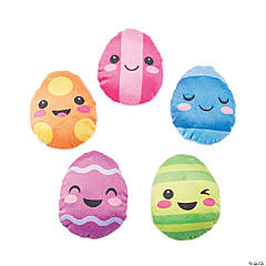 Plush Easter Egg Characters