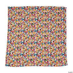 Plush Emoji Collage Blanket