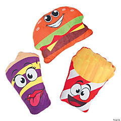 Plush Fast Food Characters