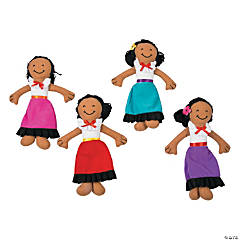 Plush Fiesta Yarn Dolls