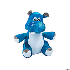 Plush Funky Hippo
