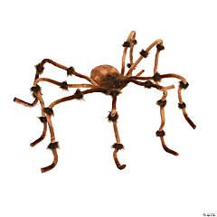 Plush Giant Brown Spider Halloween Décor