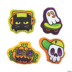 Plush Halloween Graffiti Characters