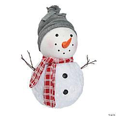 Plush Holiday Snowman