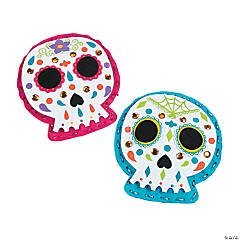 Plush Lacing Sugar Skull Craft Kit