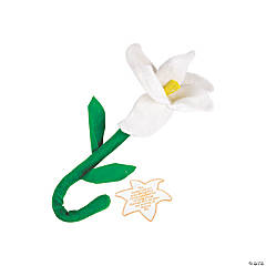 Plush Lilies with Card