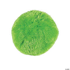 Plush Lime Green Gumball Pillow