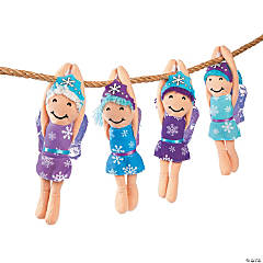 Plush Long Arm Winter Fairies