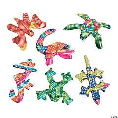 Plush Mini Glitter Animals