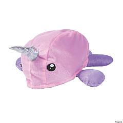 Plush Narwhal Hat