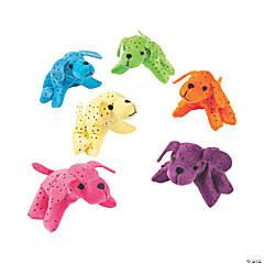 Plush Neon Dogs