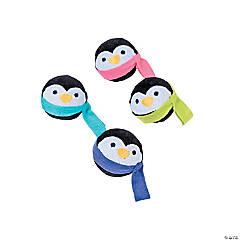 Plush Penguin Bouncing Balls
