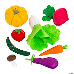 Plush Play Vegetables