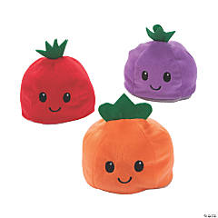 Plush Reversible Fruit