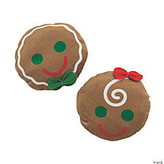 Plush Round Gingerbread