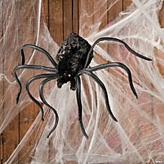Plush Shaking Spider Halloween Decoration