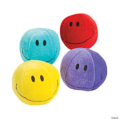 Plush Smile Face Balls