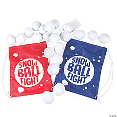 Plush Snowball Fight Game