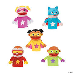 Plush Superhero Puppets
