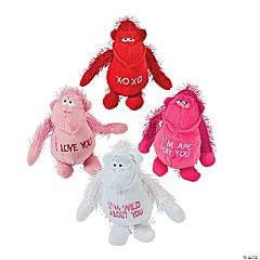 Plush Valentine Gorillas