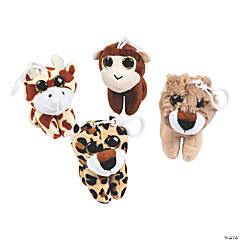 Plush Zoo Character Clips
