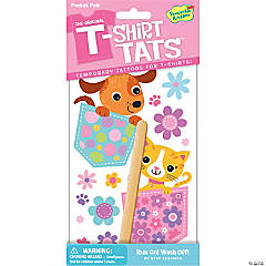 Pocket Pals Kitty & Puppy T-Shirt Tats Pack