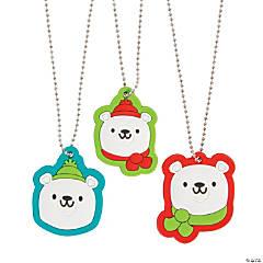 Polar Bear Charm Necklaces
