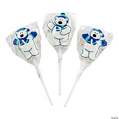 Polar Bear Lollipops