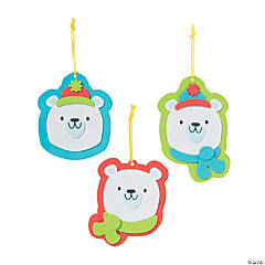 Polar Bear Ornament Craft Kit
