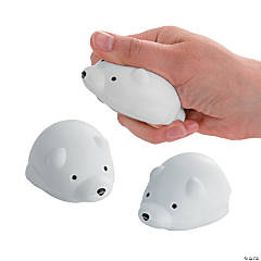 Polar Bear Stress Toys