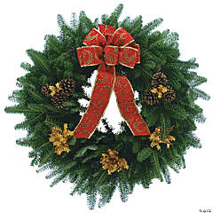Polar Express Fresh Wreath