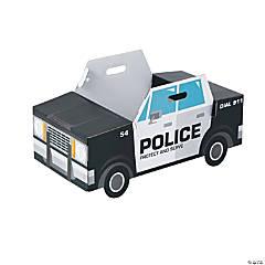 Police Car Box Costume