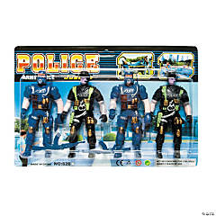 Police Warrior Character Toys