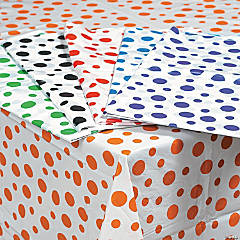 Polka Dot Plastic Tablecloths