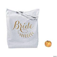 Poly-Cotton Bride Tote Bag