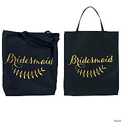 Poly-Cotton Bridesmaid Tote Bag