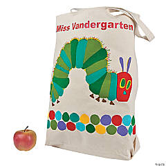 Poly-Cotton Jumbo Personalized Eric Carle's The Very Hungry Caterpillar™ Canvas Tote