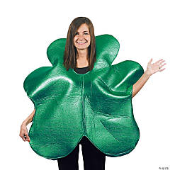 Polyester Adult Shamrock Costume