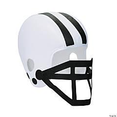 Polyester Black Team Spirit Football Helmet