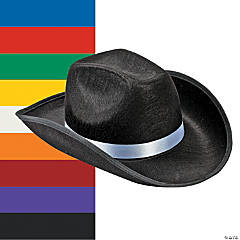 Polyester Cowboy Hat
