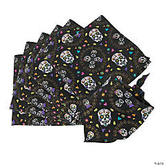 Polyester Day of the Dead Bandanas