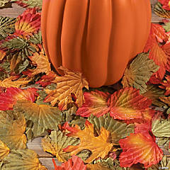 Polyester Decorative Fall Leaves