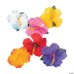 Polyester Decorative Hibiscus