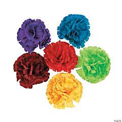 Polyester Fiesta Flower Hair Clips
