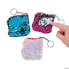 Polyester Flipping Sequins Coin Purses